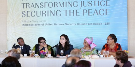 Image: Launch of Global Study on UNSC Resolution 1325 UN Women [CC/Flickr]
