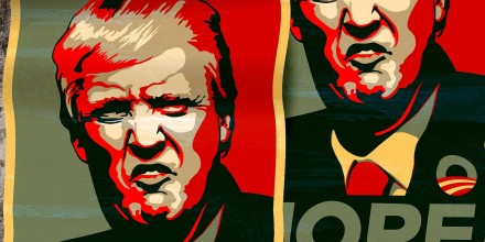 Image: A web poster of Donald J. Trump / pixabay.com
