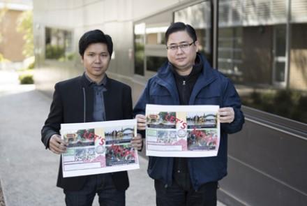 Aye Chan Maung and Chit Win. Photo: James Walsh.