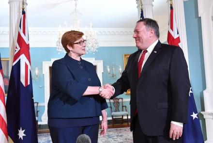 Secretary Pompeo meets with Australian FM Marise Payne