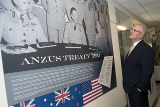 ANZUS Treaty poster