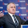 Malcolm Turnbull speaking at the United States Studies Centre.