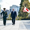 US Defense Secretary Jim Mattis reviews Japanese troops with Japanese Defense Minister Tomomi Inada in Tokyo, 4 Feb, 2017. (Photo:US Dept of Defense)